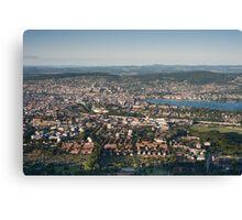 zürich city Canvas Print