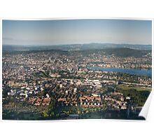 zürich city Poster
