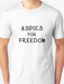 """Mary and Max """"ASPIES FOR FREEDOM""""  Unisex T-Shirt"""