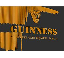 { guinness beer brewery in dublin, ireland } Photographic Print