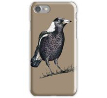 Magpie - Dedicated to family iPhone Case/Skin
