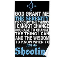 Limited Edition Funny Shooting Tshirts Poster