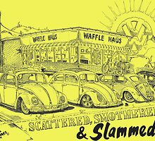 Waffle Haus ... Scattered , Covered & Slammed  by bulldawgdude