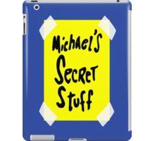 Michael's Secret Stuff iPad Case/Skin
