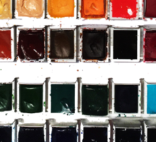 Paintbox Set Sticker