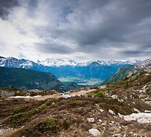 view from belalp by peterwey