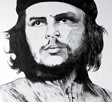 Che Guevara Sketch by Keith Molloy