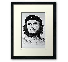 Che Guevara Sketch Framed Print