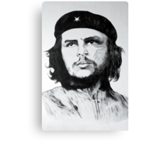 Che Guevara Sketch Canvas Print