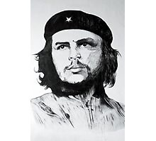 Che Guevara Sketch Photographic Print