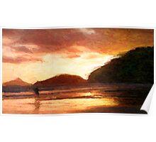 Baleia Beach - Sp/ Brasil Poster