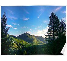 Siskiyou Wilderness, Del Norte County, California, USA Poster