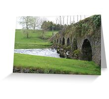 Cork Bridge Greeting Card
