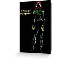 Rogue from XMEN Greeting Card