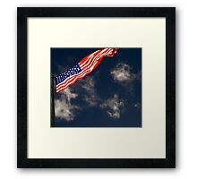 Flag III Framed Print