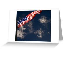Flag III Greeting Card