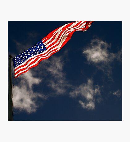 Flag III Photographic Print