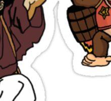 Jet Pack Bros. Sticker