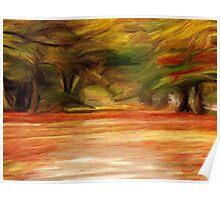 Foliage Path Poster