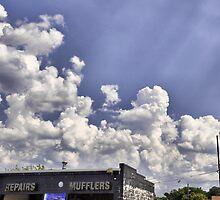 Muffler Clouds by Jason Siegrist