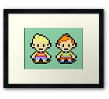 Lucas and Claus - Mother 3 Framed Print