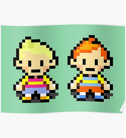 Lucas and Claus - Mother 3 Poster