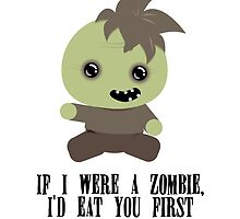 Lil Zombie by lindsaysawesome