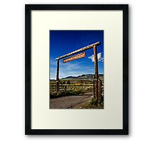 Yellowstone Park 433 Framed Print