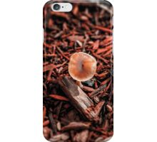 Red chips and lone shroom iPhone Case/Skin