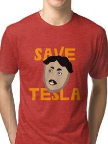 Save Tesla Tri-blend T-Shirt