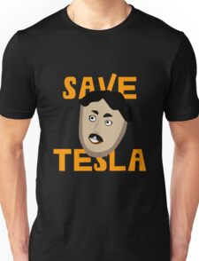 Save Tesla Unisex T-Shirt