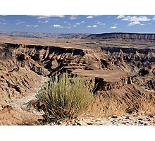 Fish River Canyon River Panorama Photographic Print