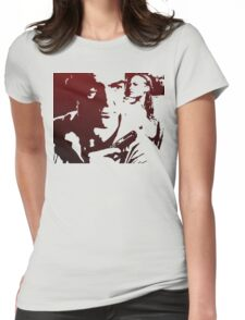 James Bond in Red Womens Fitted T-Shirt