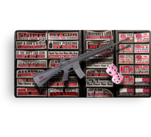 01.19.13 Gun Appreciation Day Canvas Print