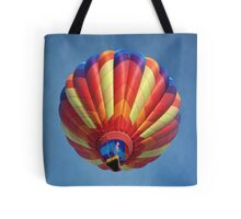 High flying balloon, turning up the burn! Tote Bag