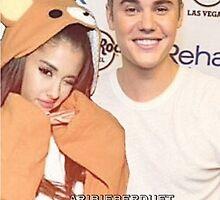 Justin and Ariana - aribieberduet by aribieberduet