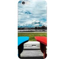 Sit with me iPhone Case/Skin