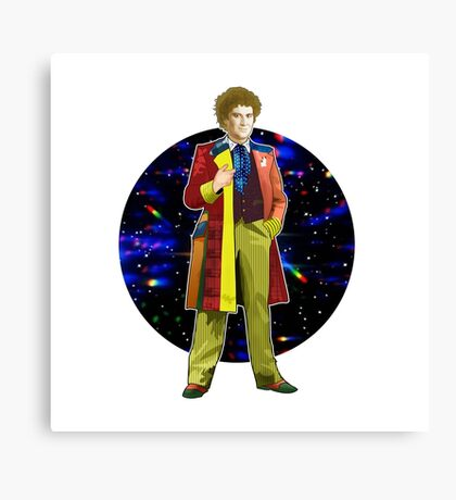 The 6th Doctor - Colin Baker Canvas Print