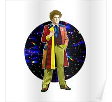 The 6th Doctor - Colin Baker Poster