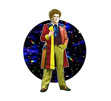The 6th Doctor - Colin Baker Photographic Print
