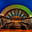 Steps, Shadow & Time  (In Colour) - The Grand Staircase - QVB - The HDR Experience by Philip Johnson