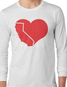 California Heart Long Sleeve T-Shirt
