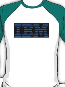 IBM Logo - Black and Blue T-Shirt