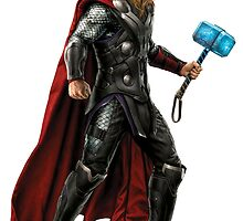 Battle Ready Thor by PieCatchem