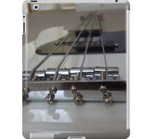 Bass Guitar Black and White iPad Case/Skin