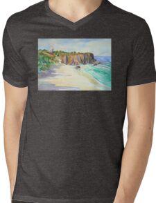 Fingal Lighthouse  Mens V-Neck T-Shirt