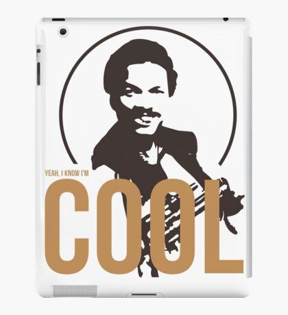 Yeah, I know I'm cool - cutout iPad Case/Skin