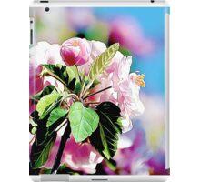 Spring into Bloom Matching Print iPad Case/Skin