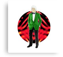 The 3rd Doctor - Jon Pertwee Canvas Print