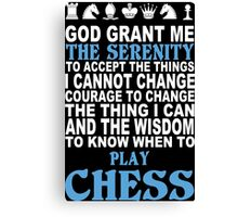 Funny Chess Tshirts, Mobile Covers and Posters Canvas Print